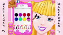 Barbie Make Up andes for Girls _ Barbie Girls Games _ Barbie as The Isla