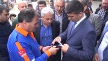 Manisa Valisi Mustafa Hakan Güvençer Deprem Bölgesinde