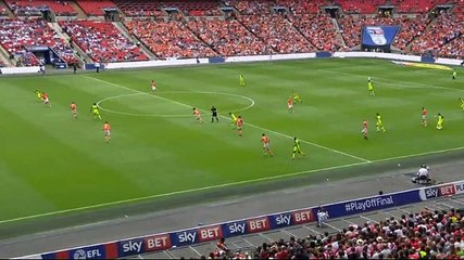 Wheeler GOAL (1:1) Blackpool vs Exeter City