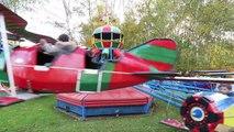 VLOG - Après-midi MANÈGES & ATTRACTIONS pour Swan et Néo au Parc Astérix