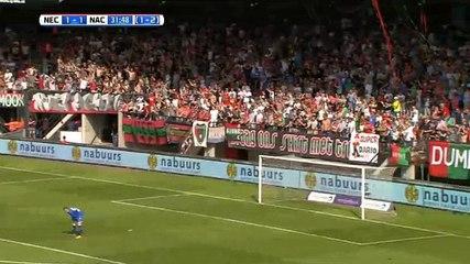 Breinburg GOAL (1:1) NEC Nijmegen vs NAC Breda
