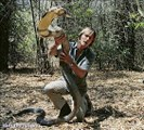 Cobra Handler Plays With Snakes    Salute the God King Cobra    Cobra treat this guy like own Son!!
