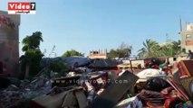 إزالة التعديات على قرية الصيادين وتسليمها لجهاز مدينة دمياط الجديدة