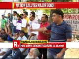 Pro-Army demonstrations held by Jammu and Kashmir National Panthers Party (JKNPP) in Jammu