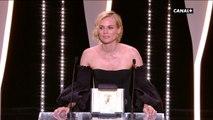 """Diane Kruger (Prix d'interprétation féminine) : """"Je suis submergée par l'émotion"""" - Festival de Cannes 2017"""