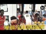 Shareef O'Neal and Bol Bol Coast To Win; Bol Hits Nasty Crossover!