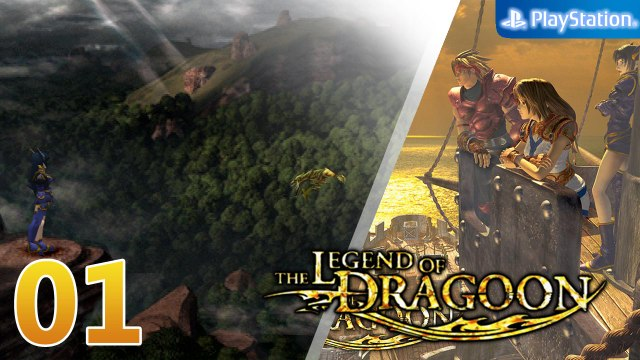 The Legend of Dragoon 【PS1│ePSXe】 #01 │ Chapter 1 : Serdian War