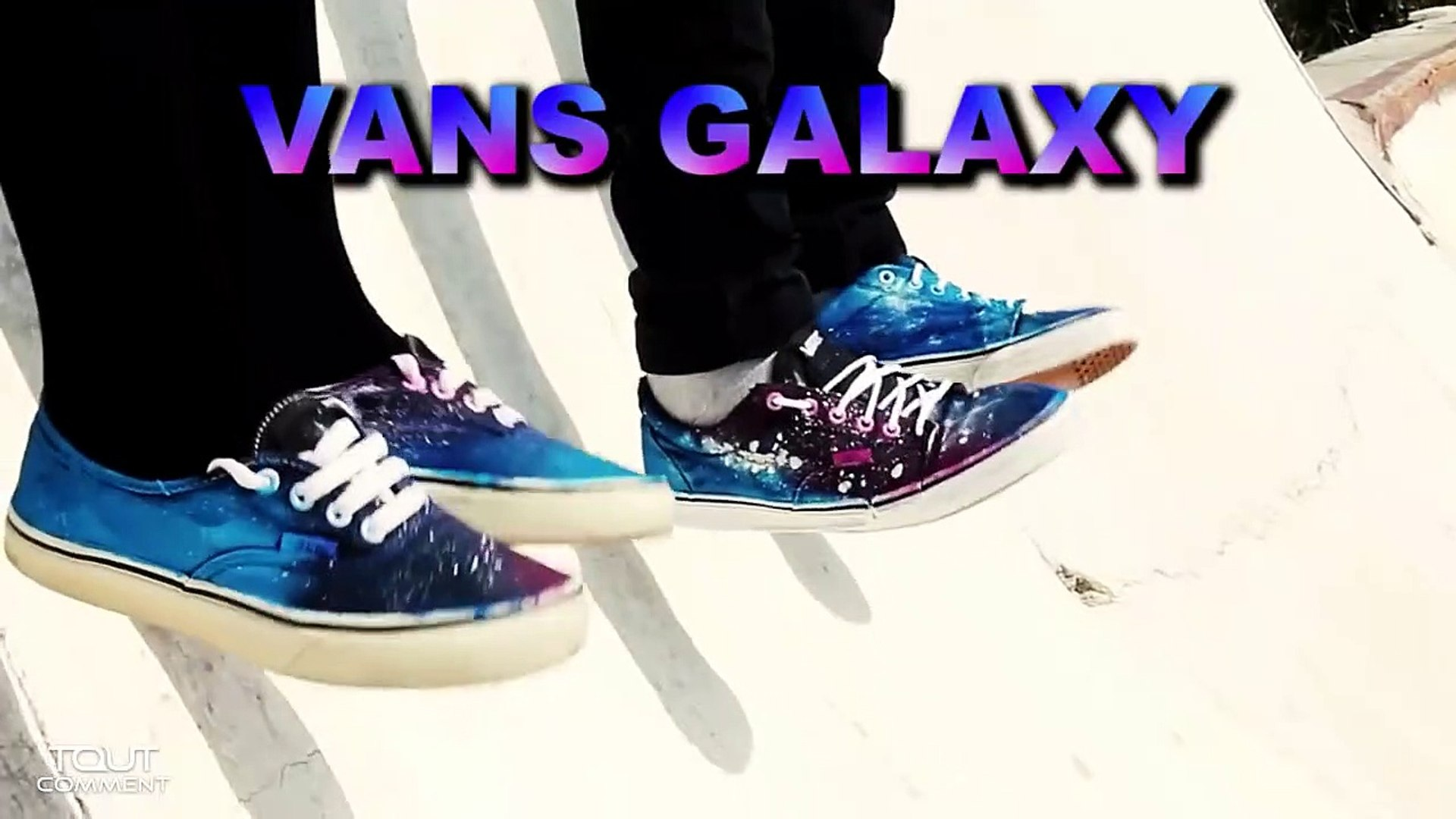 Comment customiser ses chaussures GALAXY VANS