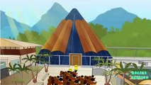 Minions Banana adventure in Jurassic World Park ~ Dinosaurs Attack ~  Funny Cartoon ~ Part 2 [4k]