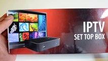 Mag Box Un-boxing & Review - MAG 254 IPTV Setup box
