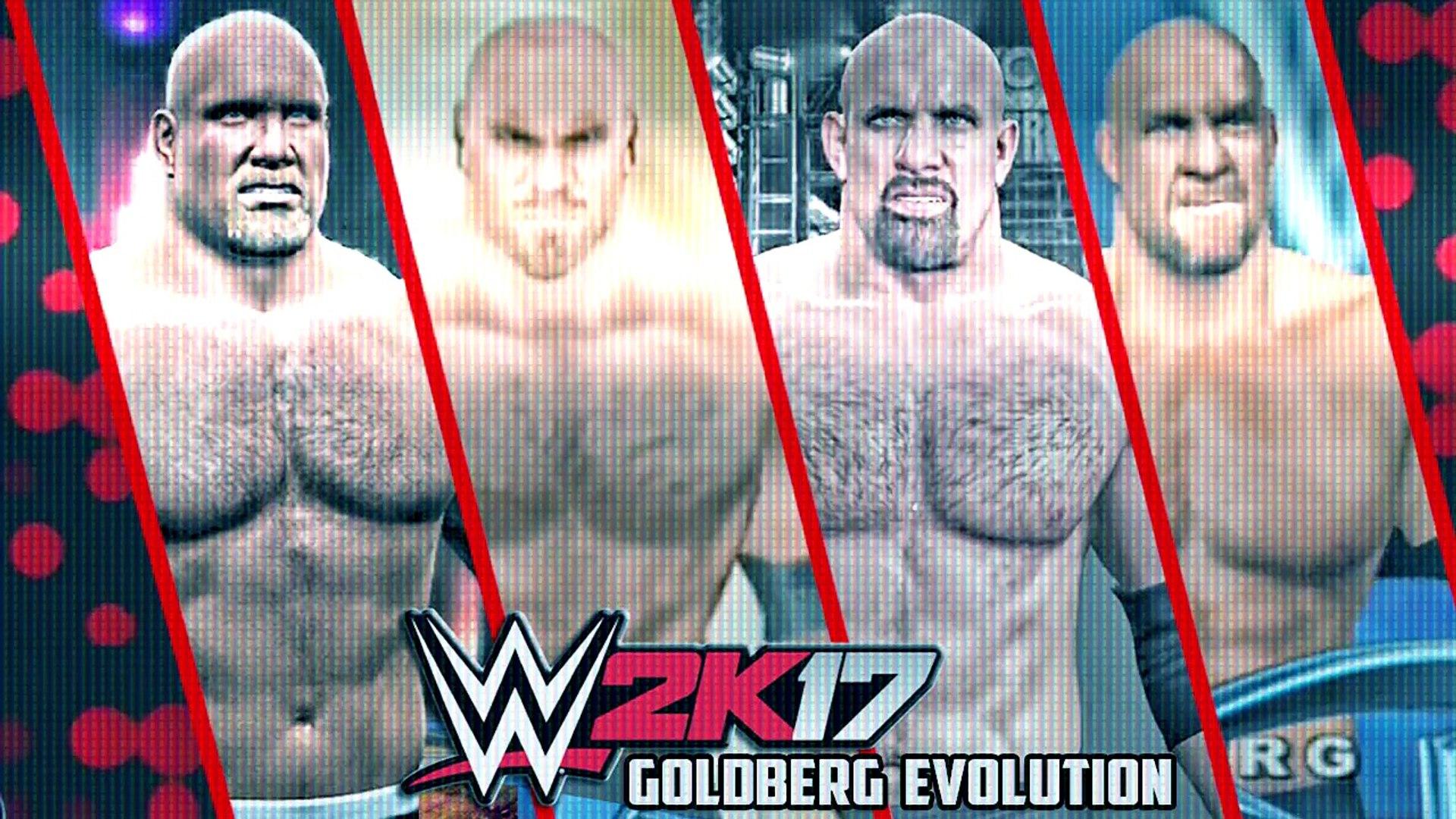 WWE 2K17 - Goldberg Entrance Evolution! ( WWE WrestleMania XIX To WWE 2K17 )