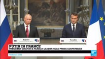 "Putin in Versailles: ""It's my first time in Versailles!"""