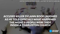 Video Dylann Roof laughs in video confession