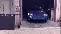 Binz.E, un Tesla Model S convertido en coche fúnebre