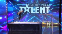 Is That Safe! Comedy TRAMPOLINER Has Judges in Stitches! _ Go