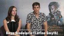 """Interview : on a rencontré Orlando Bloom et les acteurs du nouveau """"Pirates des Caraïbes"""""""