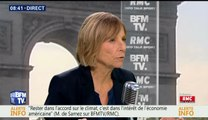Marielle de Sarnez, invitée de  Bourdin Direct sur BFMTV - 290517