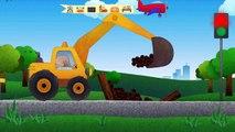 Bagger kinderfilm   Autos und Lastwagen für Kinder   Kinderfilme cartoon für kinder