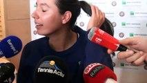 """Roland-Garros 2017 - Océane Dodin : """"Je n'ai pas de pression"""""""