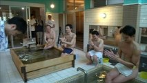 Tokyo communal bath house offers lectures to naked customers