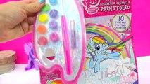 My Little Pony Paintfolio Watercolor MLP Water Color Paint Art Poster Book - Cookieswirlc