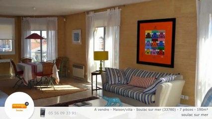 A vendre - Maison/villa - Soulac sur mer (33780) - 7 pièces - 190m²