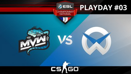 CS:GO - MvW vs WySix - Train - ESL Championnat National - Summer 2017 - Map 2