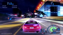 need for speed underground 2 audi a3 gameplay cruise - video