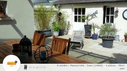 A vendre - Maison/villa - Caen (14000) - 4 pièces - 70m²