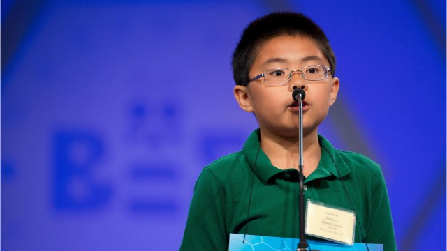 As National Spelling Bee Gets Harder, It's Easier To Predict Winners