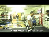 JARRETT HURD SHOWS OFF HAND SPEED READY FOR FRANK GALARZA NOVEMBER 14 EsNews Boxing