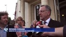 """Affaire Ferrand: """"Ce sont les électeurs qui marquent leur confiance"""", selon Richard Ferrand"""