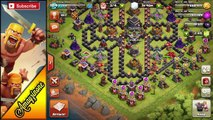 Clash of Clans - INSANE 3D TH9 TROLL BASE DESIGN!! CoC Town Hall 9 Troll Base Defense