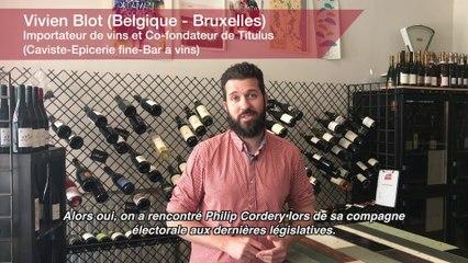 Vie professionnelle  Vivien Blot, importateur de vins et Co-fondateur de Titulus. Caviste-Epicerie fine-Bar à vins  à Bruxelles (Belgique)