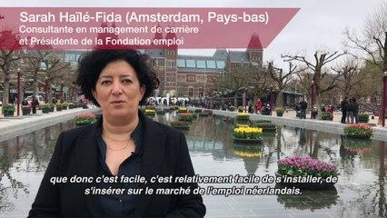 Vie professionnelle : Sarah Haïlé-Fida. Consultante en management de carrière et Présidente de la Fondation emploi (Pays-Bas)