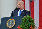 Trump delivers Memorial Day remarks at Arlington National Cemetery