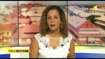 Images et interview de ma nièce Alice pour Midi 1ère Guyane - Saint-Laurent du Maroni, conseil d'administration du SDIS Guyane