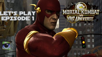 Let's Play Mortal Kombat vs. DC Universe (Xbox 360) - Episode 1