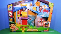 JULIUS JR [Nickelodeon] Rock n Playhouse Box Julius Jr with Bubble Guppies Gil & Molly Fu