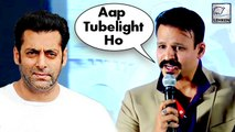 Vivek Oberoi Makes Fun Of Salman Khan's Tubelight