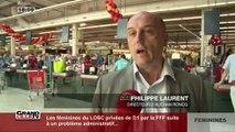 Visite du magasin Auchan de Roncq