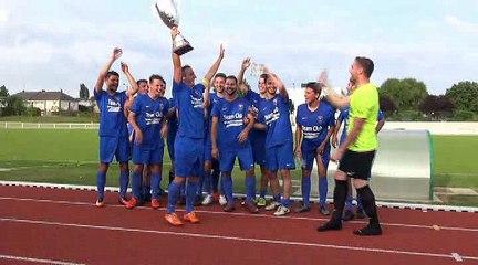 La B du Sablé FC vainqueur de la coupe du Maine