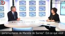 En 2014, Corinne Lepage mettait déjà en doute la probité de Marielle de Sarnez...