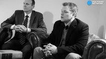 Matt Damon on Trump - We can work with anybo