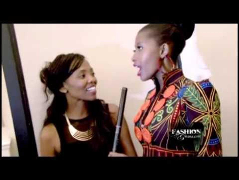 Sascha @ London Fashion Week S S 2014 African Fashion By Fashions Finest