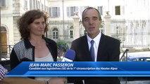 """""""je ne suis pas opportuniste"""" : Jean-Marc Passeron explique pourquoi il est candidat au legislatives dans les Hautes-Alpes"""