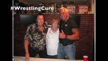 "Brutus ""The Barber"" Beefcake & Honky Tonk Man shoot on restaurants"