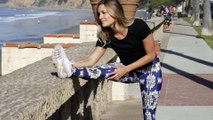 Women's sustainable sports clothes made from recycled polyester