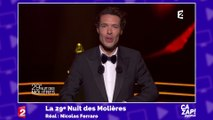 """Nicolas Bedos se paie la patronne de France Télévisions, venue se distraire """"entre deux licenciements"""""""