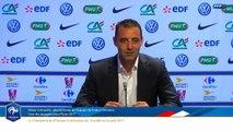 Le replay : Annonce des joueuses retenues pour l'Euro 2017